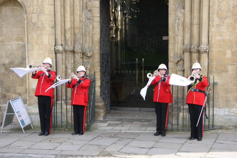 Fanfare Military Musicians