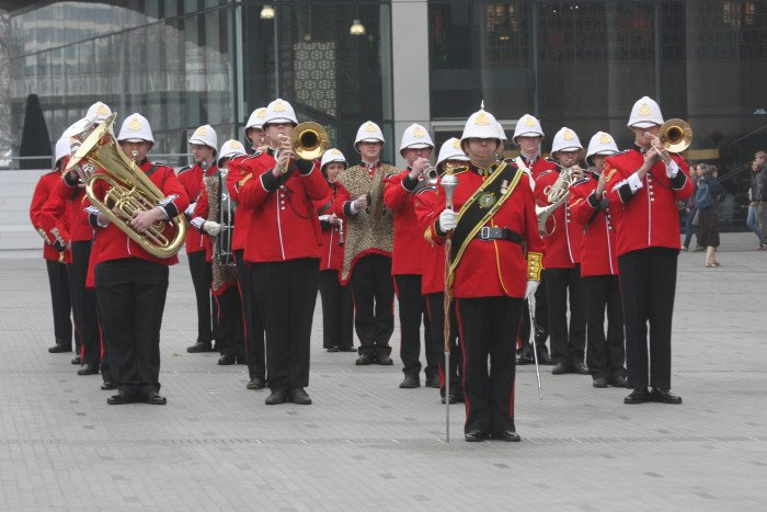 Military-Marching-Brass-Band-London