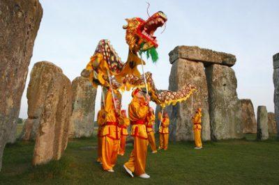 Guan Yin Chinese Dragon Dance