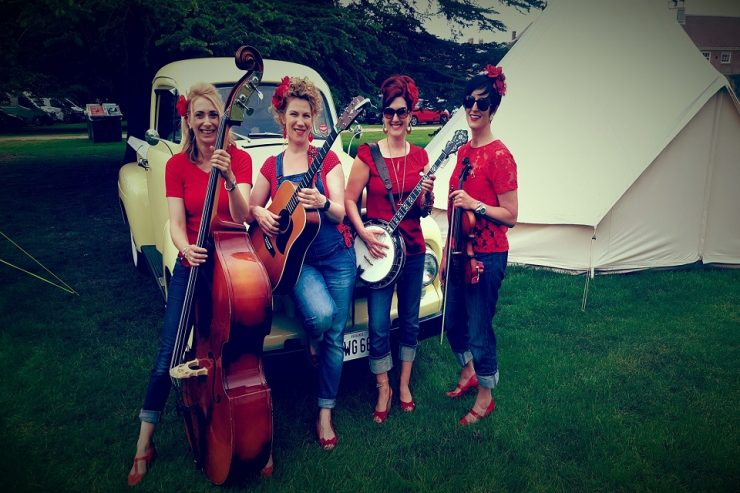 Book an all Female Bluegrass Band in London - Music for London