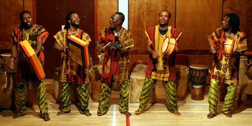 Ghananian Master Drummers