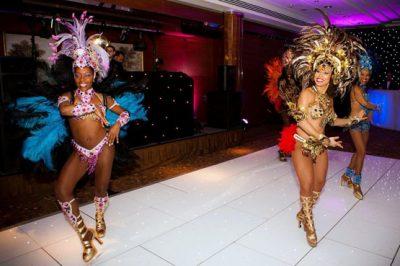 Brazilian Carnival Dancers