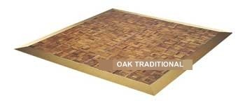Hire Traditional Oak Dance Floor