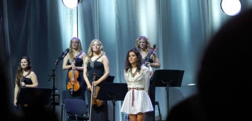 Rococo String Quartet playing for Katie Melua European Tour
