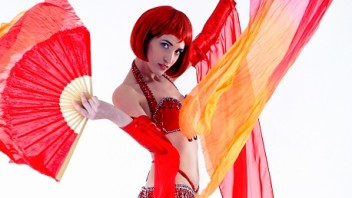 Oriental Belly Dancer And Fire Performer For Parties And Functions