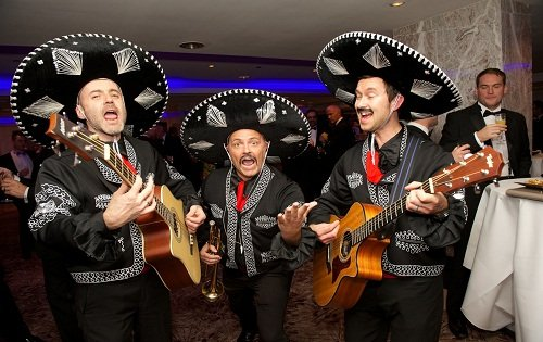 The Mexican Mariachi Band - Moneyfacts Group Awards