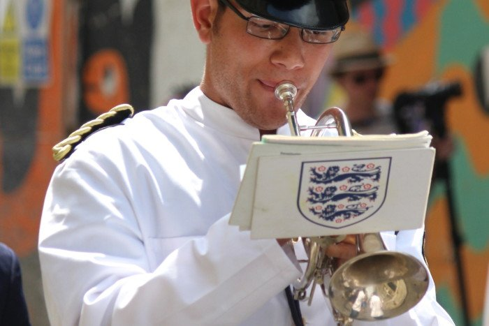 Solo-Brass-Player