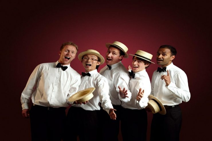 Book A Barbershop Quintet in London - Music for London