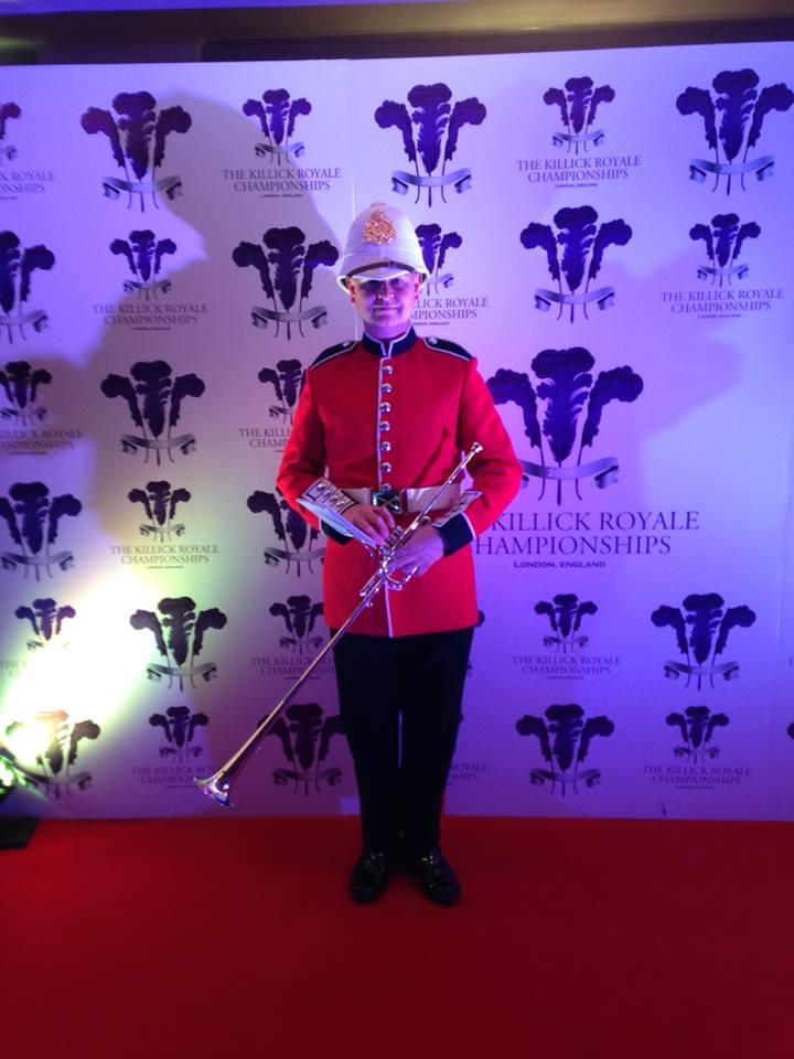 Fanfare Trumpeter Bugle Player