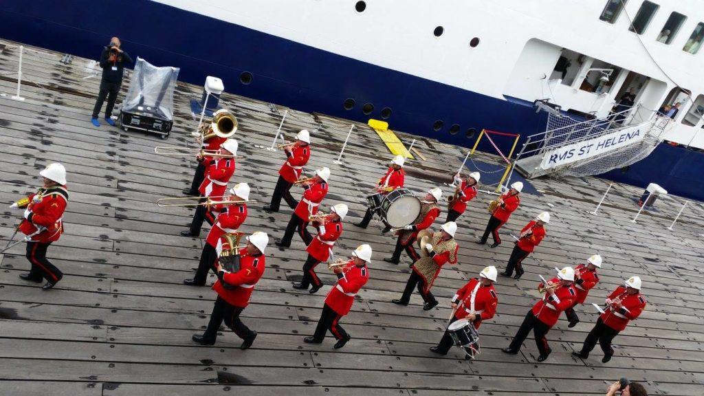 MFL-Military Marching Band - St Helena Farewell