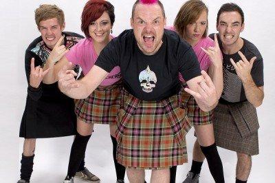 Traditional Scottish Bag Pipe Rockers
