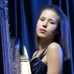 Solo Female London Harpist