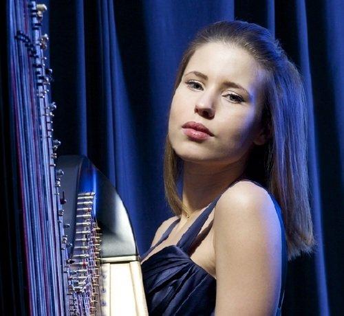 Solo Female London Harpist