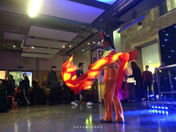 Hire Chinese Ribbon Dancer London