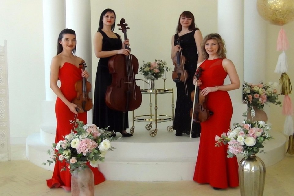 Book An All Ladies String Quartet In London Music For London